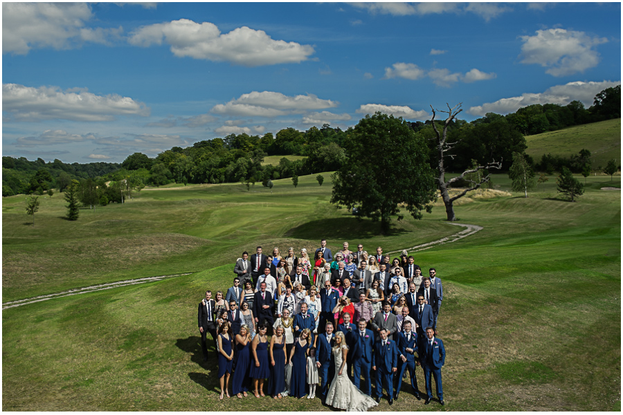 1451 - Woldingham Golf Club wedding of Liane & Andreas
