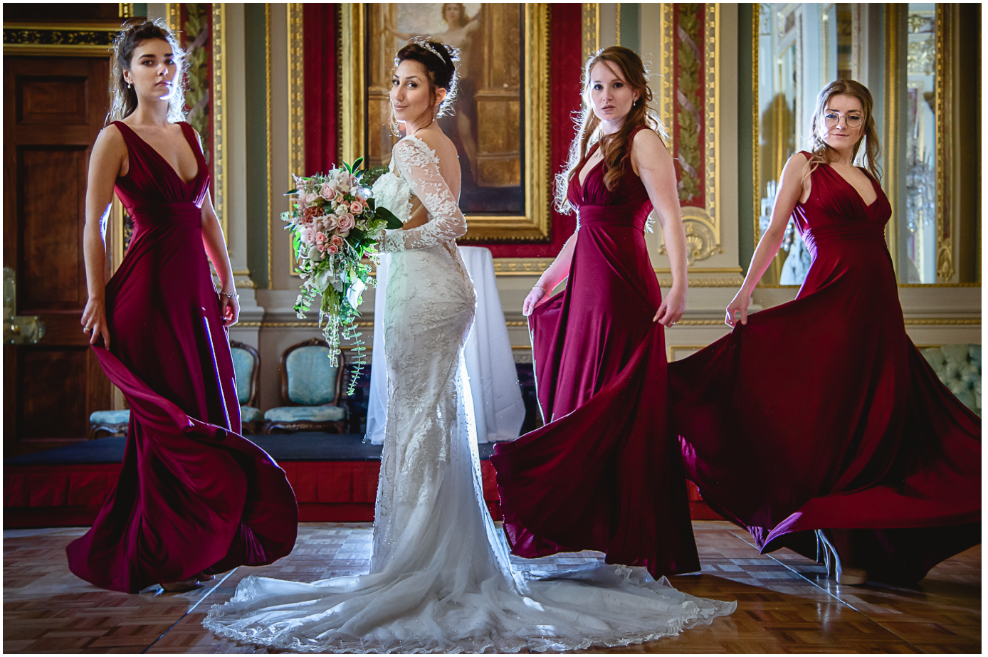 drapers-hall-London-bridal-party