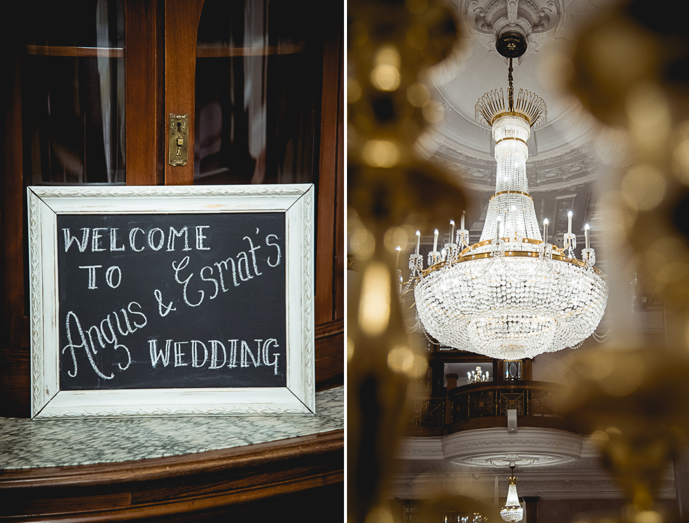 1 - Esmat and Angus - St. Ermin's Hotel London wedding photographer