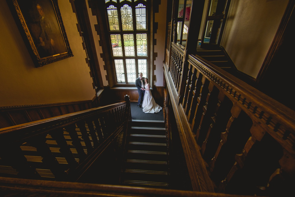 putteridge bury wedding interior