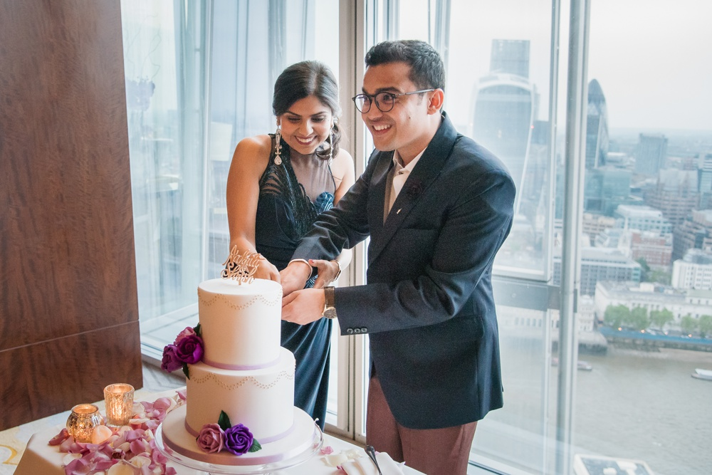 Aakriti Shrish 95 - The Shard Wedding at Shangri-la Wedding