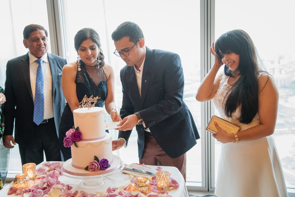 Aakriti Shrish 96 - The Shard Wedding at Shangri-la Wedding