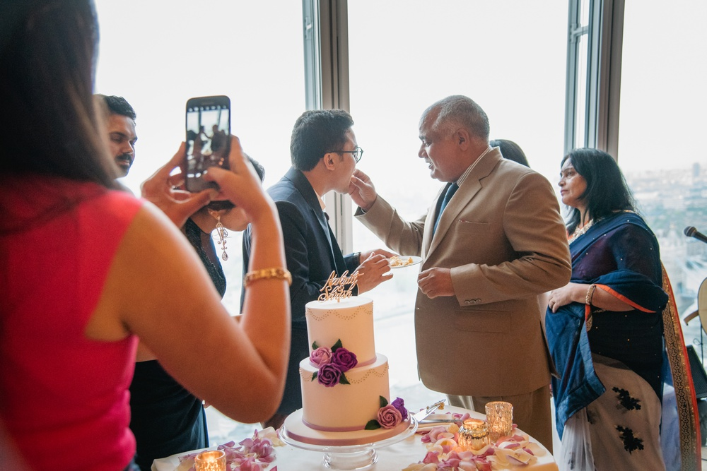 Aakriti Shrish 97 - The Shard Wedding at Shangri-la Wedding