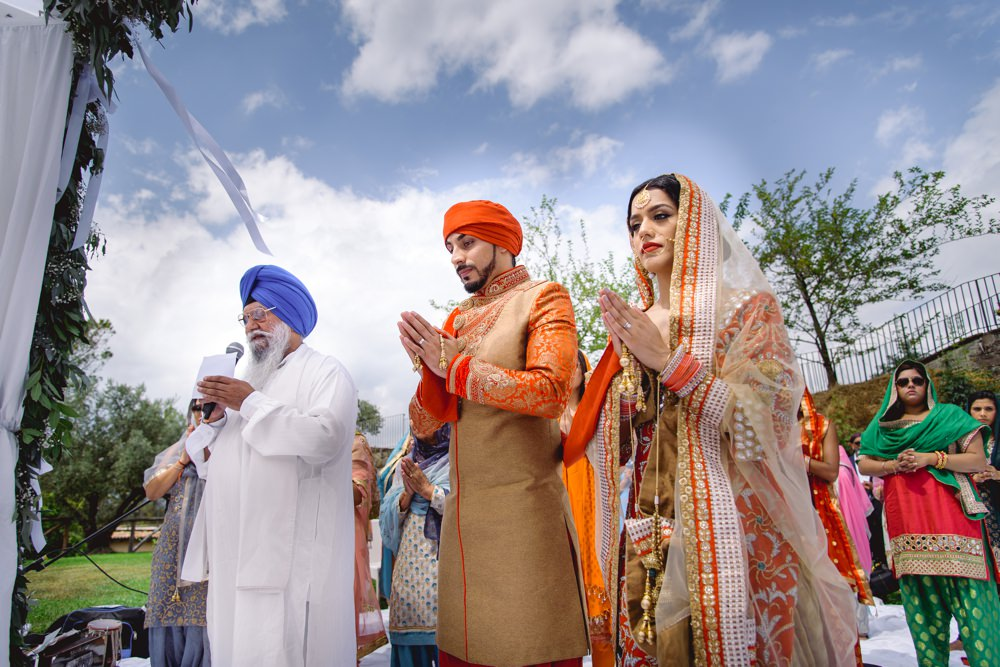 GURJ SUKH 166 - Asian wedding photographer London | Sikh wedding photography