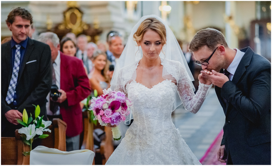 431 - Alexandra and Thomas - stunning wedding