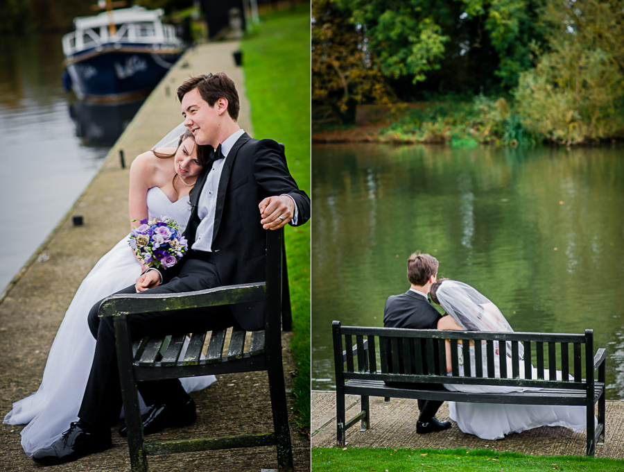 wedding photographer Windsor, wedding session on the river