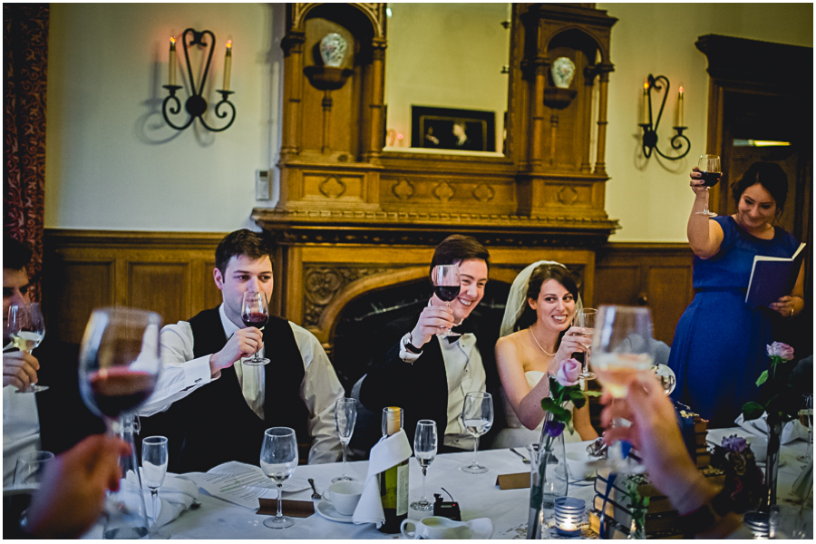wedding photographer Windsor, toast to the bride and groom