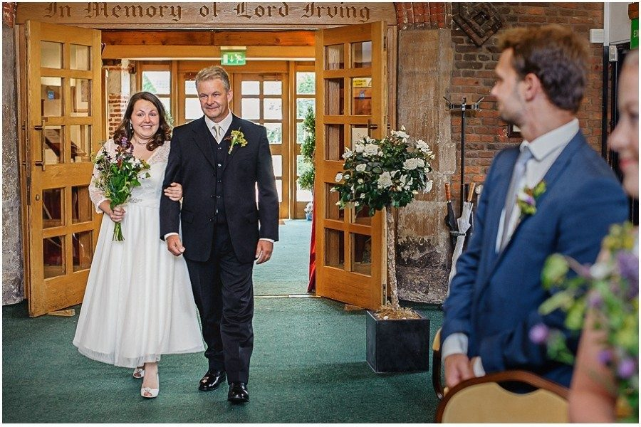Manor Gatehouse Dartford Entrance of the bride