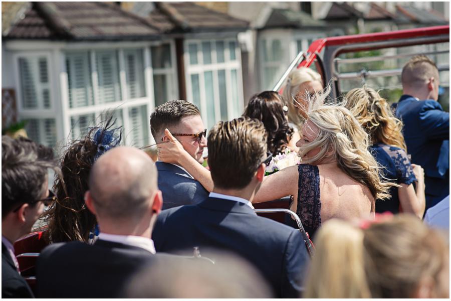 991 - Woldingham Golf Club wedding of Liane & Andreas