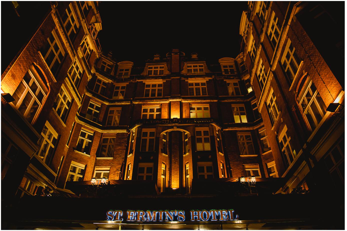 86 - Esmat and Angus - St. Ermin's Hotel London wedding photographer