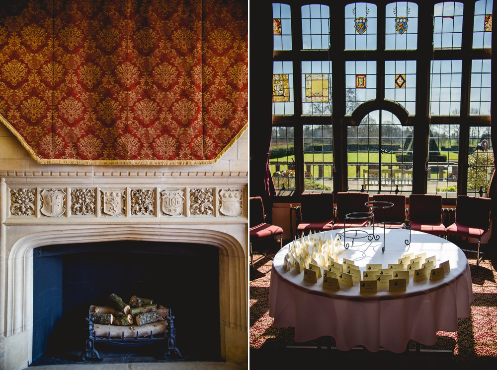 putteridge bury wedding venue interior