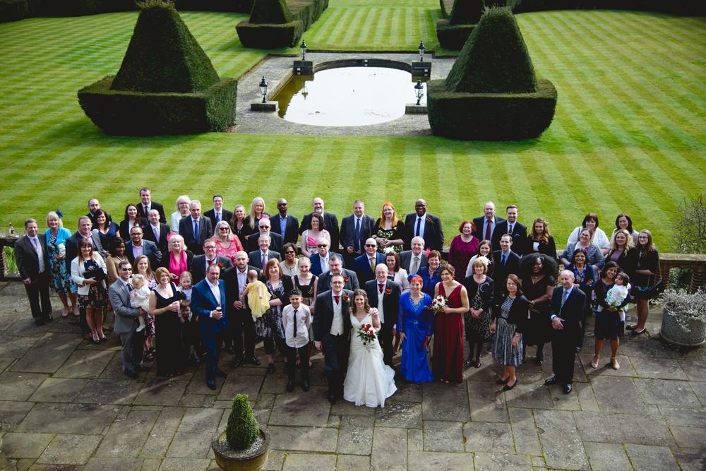 putteridge bury wedding garden