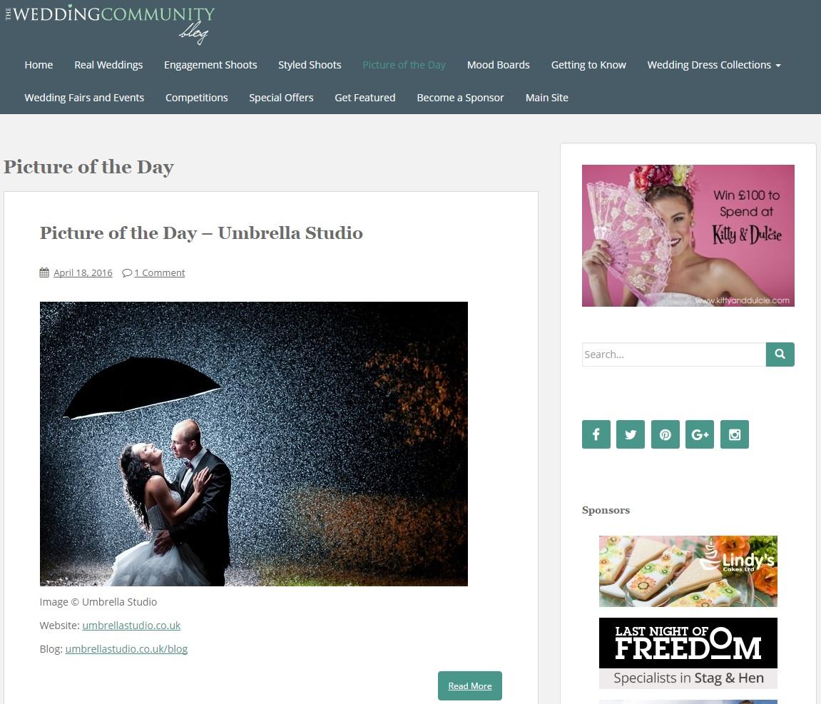 weddingcommunity - Picture of the day on the Wedding Community Blog