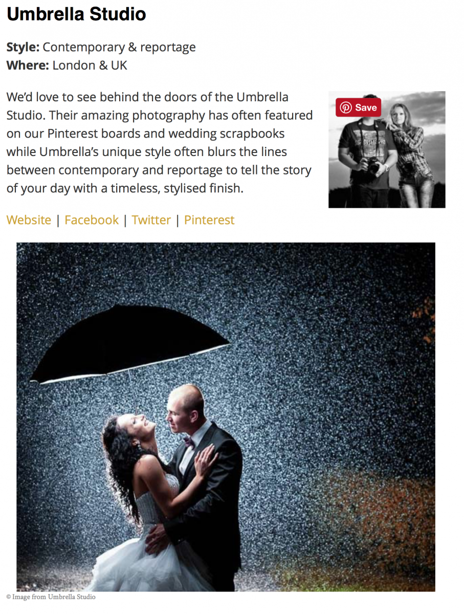 Screen Shot 2017 01 14 at 13.22.21 - UK's Top 50 Wedding Photographers 2016 - Umbrella Studio in Surrey
