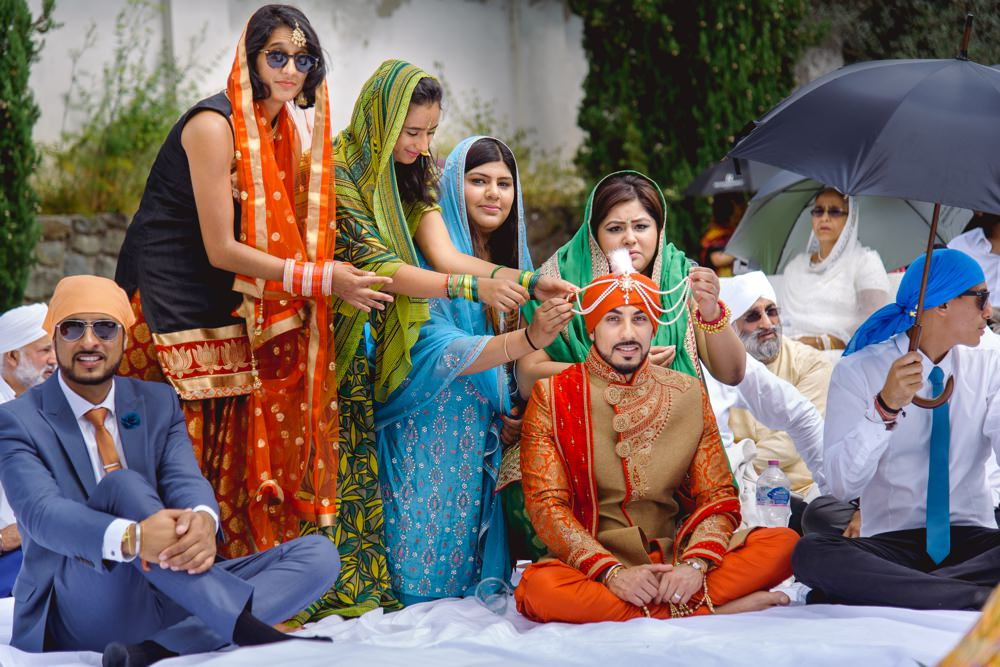 GURJ SUKH 158 - Asian wedding photographer London | Sikh wedding photography