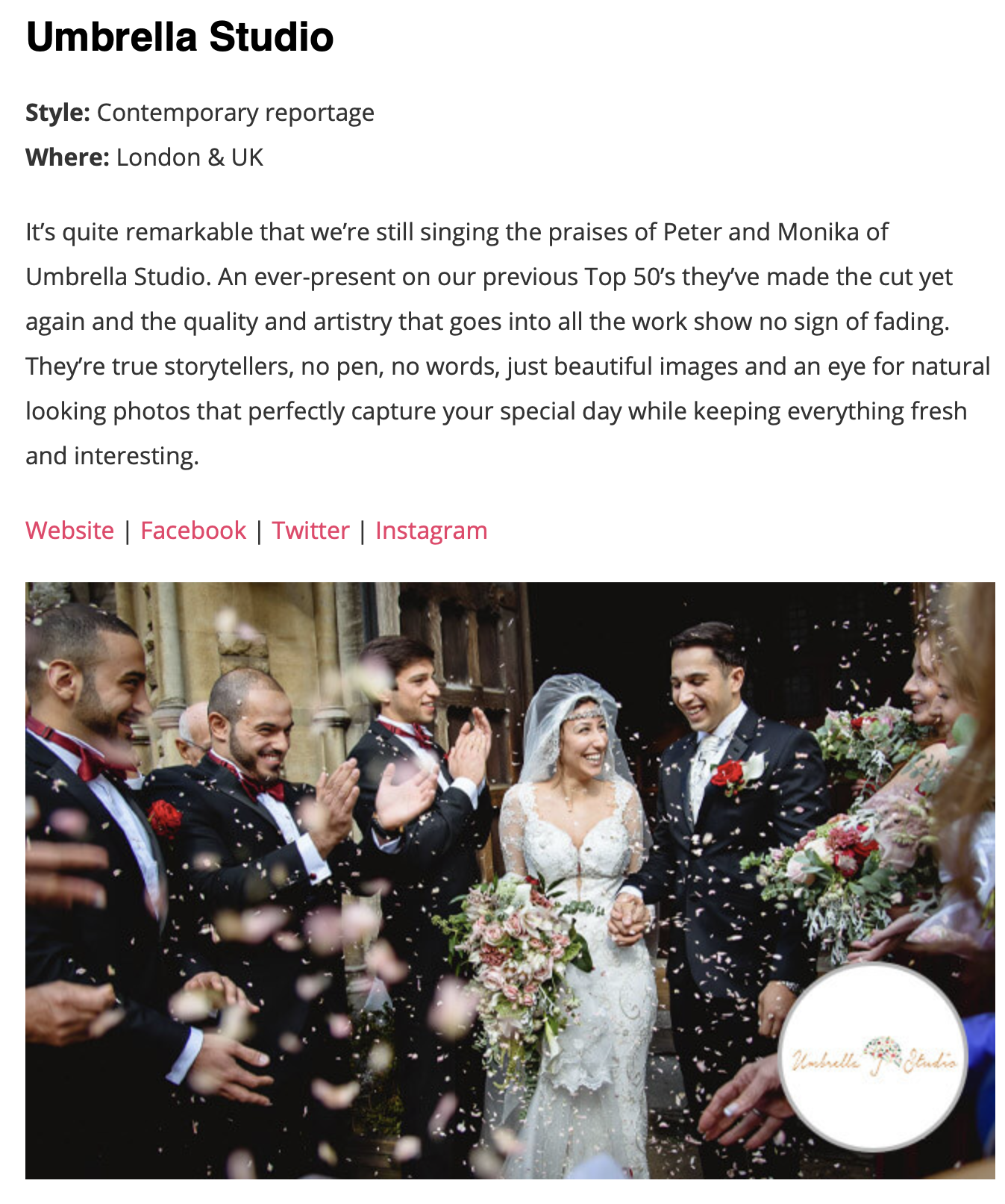Screenshot 2019 05 14 at 20.25.02 - THE 50 BEST UK WEDDING PHOTOGRAPHERS OF 2019