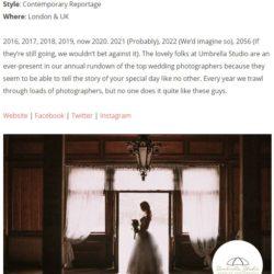 top uk wedding photograpghers